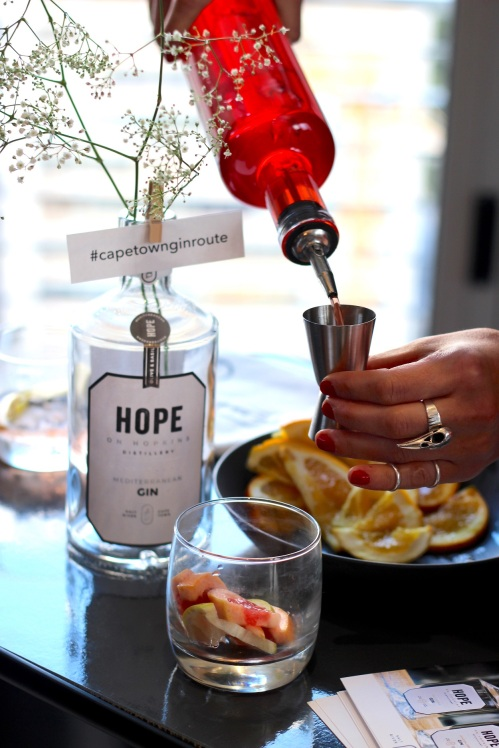 Hope on Hopkins at the Cape Town Gin Route launch